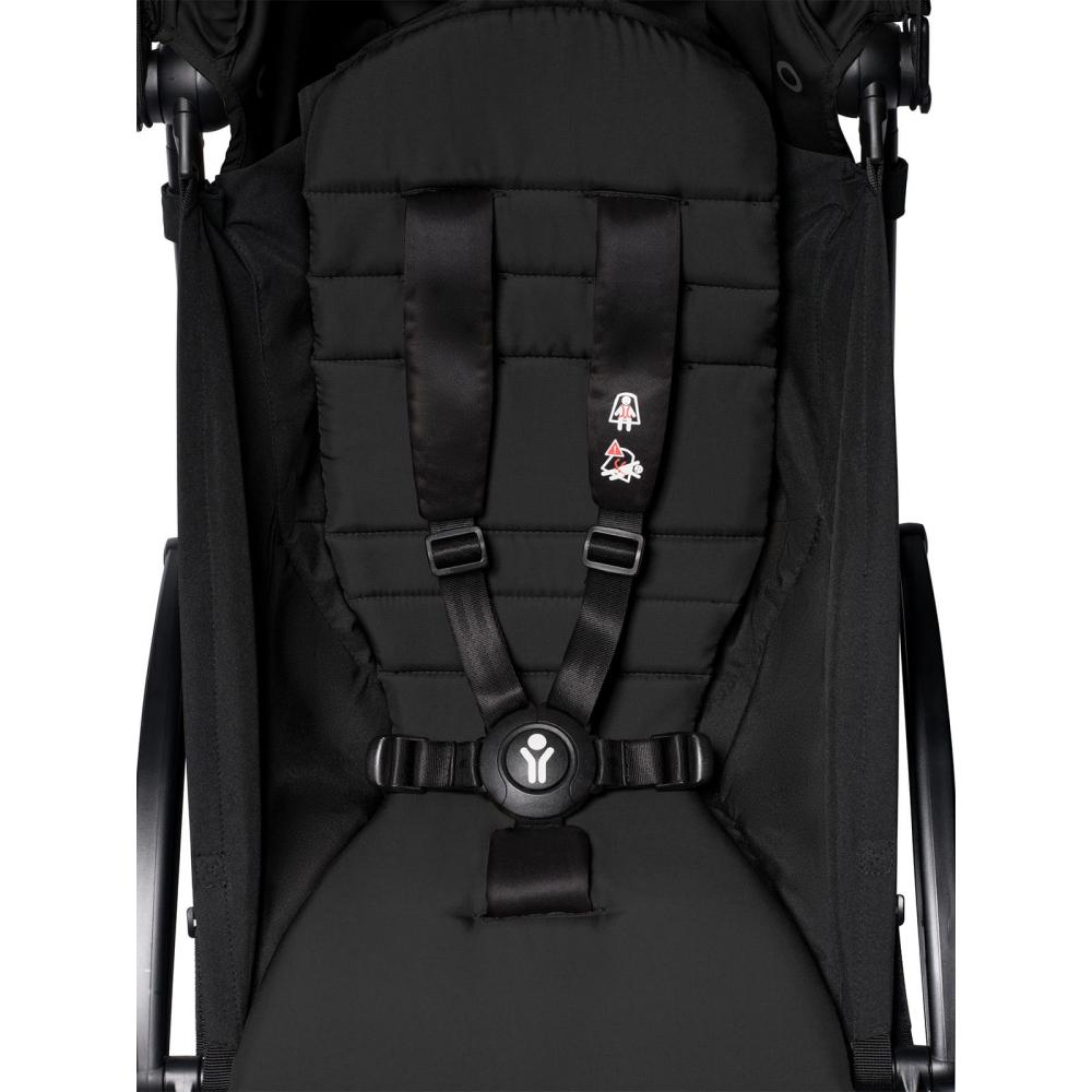 Прогулочная коляска Babyzen YoYo 2, Black/Black (черный цвет на черной раме)