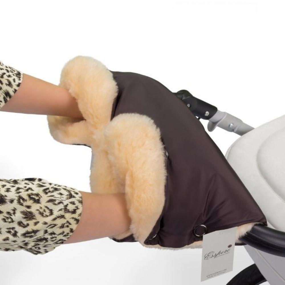 Муфта для рук Esspero Diaz Lux (Натуральная шерсть)