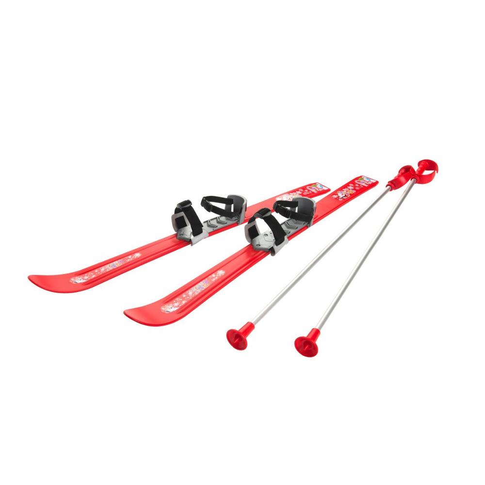 Детские лыжи с палками и креплениями Gismo Riders Baby Ski, 90 см