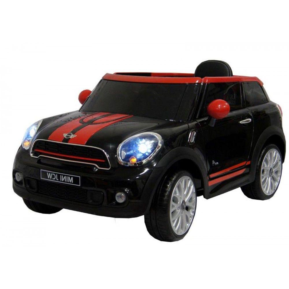Детский электромобиль Rivertoys Mini Cooper JJ2258
