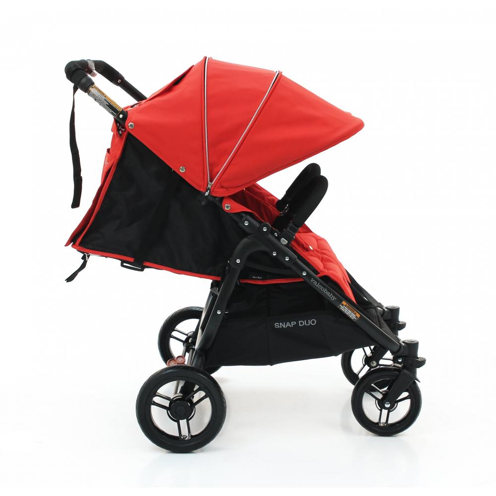 Коляска для двойни Valco Baby Snap Duo Fire Red